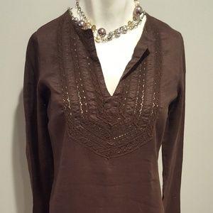 Zara Linen Shirtdress